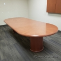 10 Ft Autumn Maple Boardroom Table