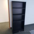 Black Bookshelf Bookcase with Adjustable Shelves 71x29