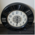 Black and White Decorative Wall Clock