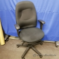 Black Fabric Adjustable Office Task Chair