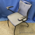 Global Grey and Black Stacking Guest / Office Chair