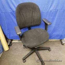 Black Adjustable Office Task Chair