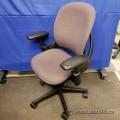 Steelcase Leap V1 Mauve Pattern Ergonomic Task Chair
