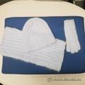 Foxy Pacific Georgia Robson Retro Hat Scarf Gloves Blue
