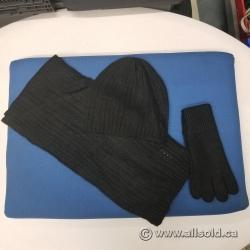 Foxy Pacific Glacier Cap Set Hat Scarf Gloves