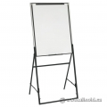 Adjustable Presentation Easel w/ Whiteboard & Paper Pad Retainer