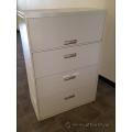 Grey 4 Drawer Lateral File Cabinet, Locking