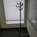 Black 7 Post Coat Tree Stand