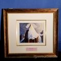 """Mount LeFroy"" Framed Print by Lawren Harris"
