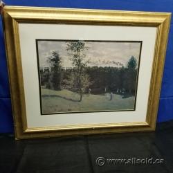 """""""Garden Party"""" Framed Print Under Glass Hanging Wall Art"""
