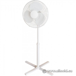 Adjustable 3 Setting Floor Fan