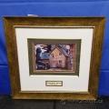 """Farmhouse and Car"" Framed Print by Prudence Heward"