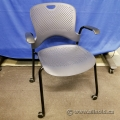 Herman Miller Caper Stacking Guest Chair w/ Wheels