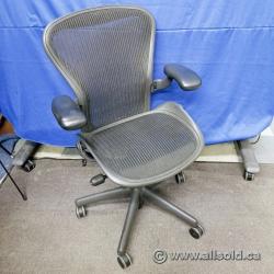 """Herman Miller Aeron """"B"""" Size Mesh Ergonomic Task Chair"""