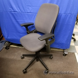 Steelcase Leap V2 Grey Adjustable Ergonomic Task Chair