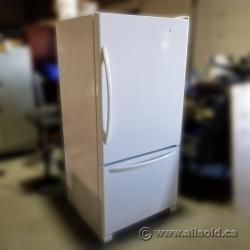 "KitchenAid White Fridge w/ Bottom Load Freezer - 32"" Wide"