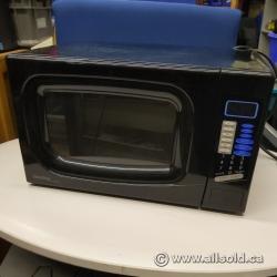 Black Danby 1100W Designer Microwave