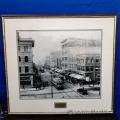 Street Cars on 8th Ave & 1st Street SE - 1919 Framed Print