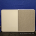Whiteboard / Grey Pin Board Like Cork Combo 36 x 24