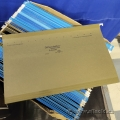 Box of Hanging File Folders, Legal or Letter, Assorted Colors