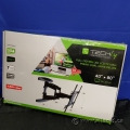 """Techly Ultra Slim Full Motion TV Dual Arms Wall Mount 40"""" - 80"""""""