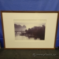 """""""Boats on Water"""" Framed Print under Glass"""