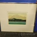 Pyramid Mountain by George Weber Numbered Print under Glass