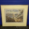 River Crossing by Daniel Izzard Framed Print under Glass
