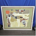 """Strange Pattern"" Framed Print under Glass"