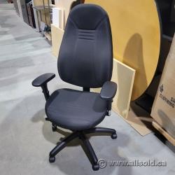 Black Global ObusForme Comfort High Back Task Chair