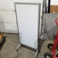 Portrait Mobile Rolling Magnetic Whiteboard