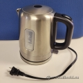 Amazon Basics Stainless Steel Portable Electric Kettle - 1L