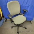 Steelcase Leap V1 Grey Ergonomic Task Chair w/ Grey Frame