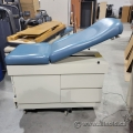 Blue Manual Exam Table with Four Storage Drawers Model 5240