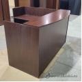 Mahogany Reception Desk w/ Transaction Counter