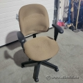 Tan Fabric Adjustable Office Task Chair