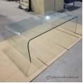 Tempered Glass Coffee Reception Table