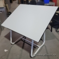 White SafCo Adjustable Drafting Art Table