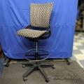 AllSteel Sum Tan Pattern Drafting Chair Stool