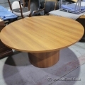 """60"""" Maple Round Meeting Table"""