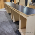 16' Front Sales Retail Counter w/ 3 Workstations