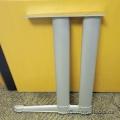 Steelcase Silver Table Leg