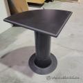 Black Corner Side Table