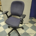 Purple Pattern Steelcase Leap V1 Adjustable Ergonomic Task Chair