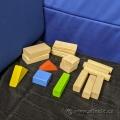 Set of 49 Children Wood Building Blocks