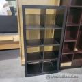 Black-Brown IKEA Storage 4x2 Cube Bookcase