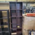 Mahogany Cube Storage Bookcase w/ Adjustable shelves