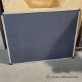 "Quartet Black Embossed Foam Cork Board 48"" x 36"""