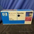 Hp 501A (Q6470A) Black Toner Cartridge NIB
