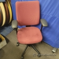 Red Turnstone Crew Office Task Chair by Steelcase, B Grade